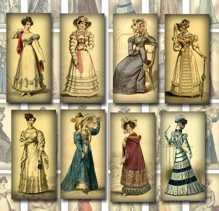 Womens fashion in the 1800s 44